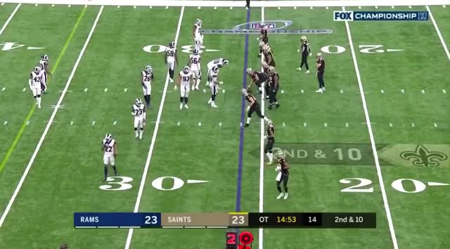 Watch and share New Orleans Saints GIFs and Los Angeles Rams GIFs by nero466 on Gfycat