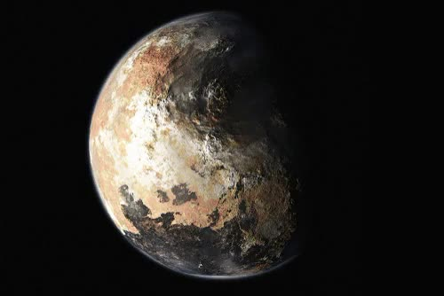 Watch  ()pluto 2015,NASA GIF on Gfycat. Discover more 2015, animated, cosmos, gif, mp, nasa, oifpeyax, planet, planets, pluto, pluton, solar system, space, space love, sphere, universe GIFs on Gfycat