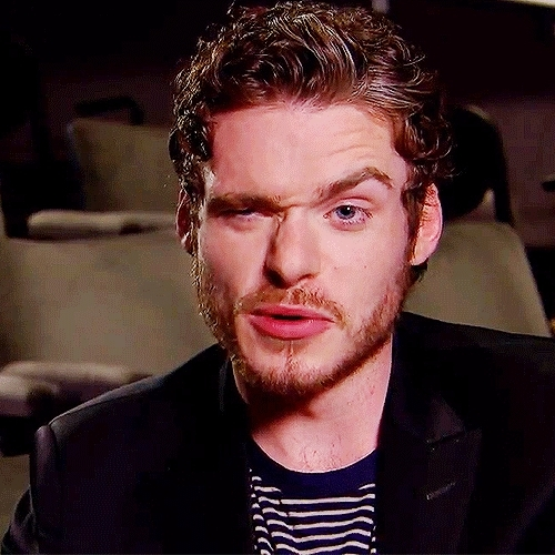 cinderellacast, gotcast, my gifs, possibly still his finest interview, richard madden, robb stark, the 2011 one that is, Richard Madden charming the socks off assorted reporters in  GIFs