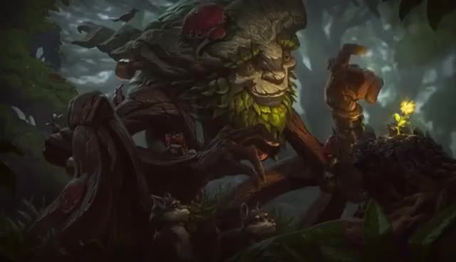 Watch and share Ivern Login Screen GIFs on Gfycat
