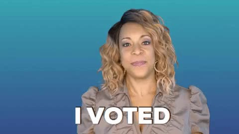 Watch and share Vote GIFs by Holly Logan on Gfycat