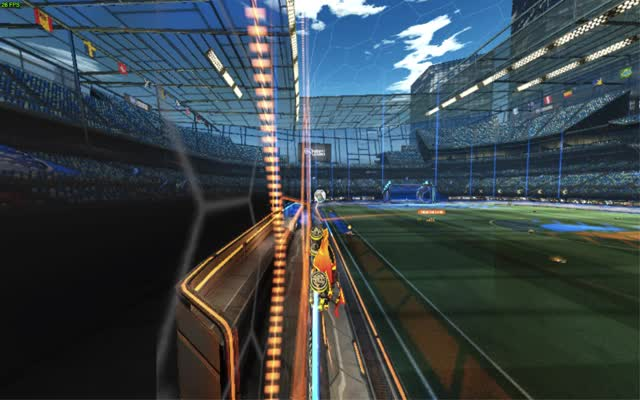 Watch Nutty Celing Goal 2 GIF by @munificientmystic on Gfycat. Discover more rocketleague GIFs on Gfycat