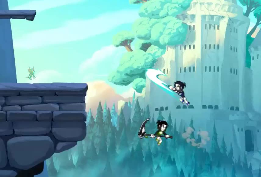 brawlhalla, fighting, platform, dlight ftw GIFs