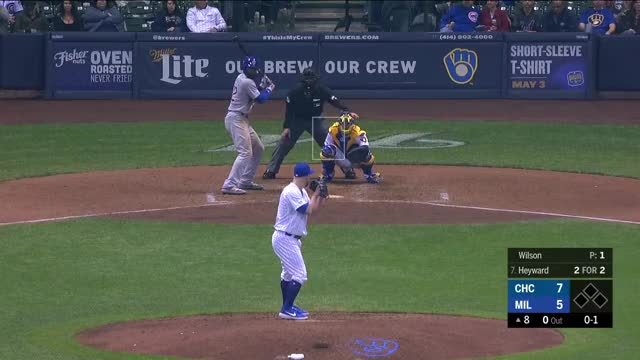 Watch Baseball Savant Videos GIF by Kevin Dalby (@kdalby) on Gfycat. Discover more Chicago Cubs, Milwaukee Brewers, baseball GIFs on Gfycat