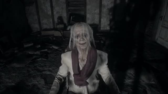 Resident Evil 7 Final Boss Fight And Ending Eveline 1080p 60fps Gif Gfycat