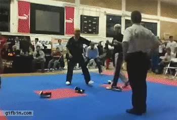 Watch reverse best friends at kickboxing final GIF on Gfycat. Discover more related GIFs on Gfycat