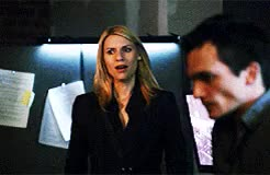 Watch and share A Red Wheelbarrow GIFs and Carrie Mathison GIFs on Gfycat