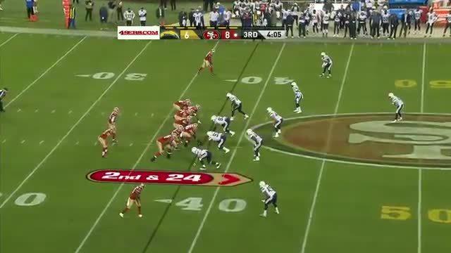 49ers, HereComesTheBoom, Jarryd Hayne Offensive Hit vs. San Diego Chargers (reddit) GIFs