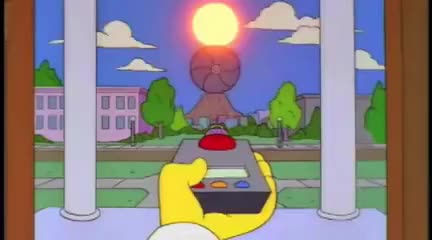 Watch and share Mr. Burns Block The Sun GIFs on Gfycat