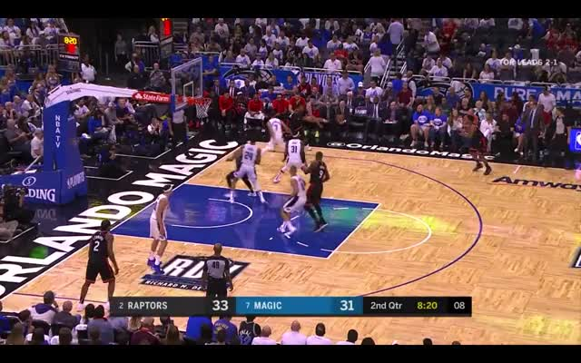Watch Ibaka hustle GIF by @nicktussel on Gfycat. Discover more Orlando Magic, basketball GIFs on Gfycat