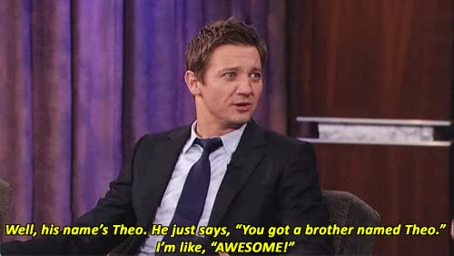 Watch Jeremy Renner mine: gif WOULD YOU STOP IT GIF on Gfycat. Discover more jeremy renner GIFs on Gfycat