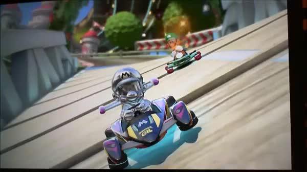 Watch Metal Mario feels the wrath. (reddit) GIF on Gfycat. Discover more luigideathstares GIFs on Gfycat
