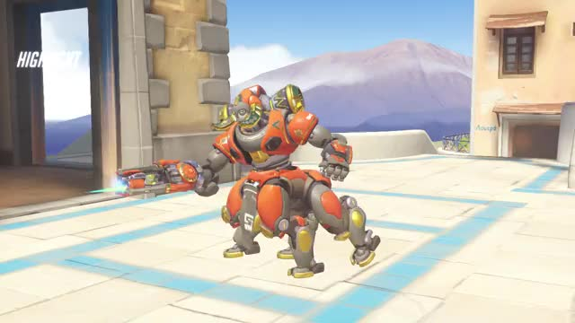Watch whoquaffed's highlight orisa punch 18-05-31 23-52-44 GIF on Gfycat. Discover more overwatch GIFs on Gfycat