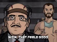 Watch and share Nipples, Archer, Kreiger GIFs on Gfycat