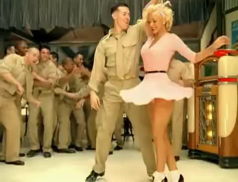 Watch and share Christina Aguilera - Candyman (Edit) GIFs on Gfycat