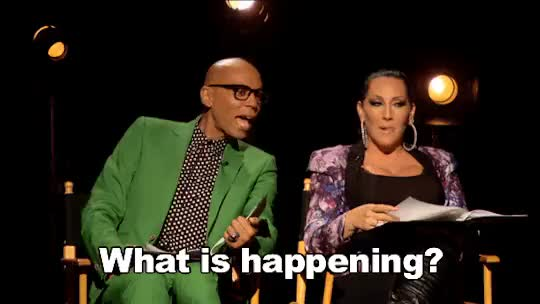 Watch and share Rupaul GIFs and What GIFs on Gfycat