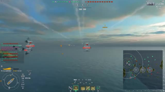 Watch and share Wows Epic And Funny GIFs and World Of Warships GIFs by hooshang on Gfycat