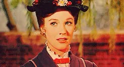 Watch and share Julie Andrews GIFs and Mary Poppins GIFs on Gfycat