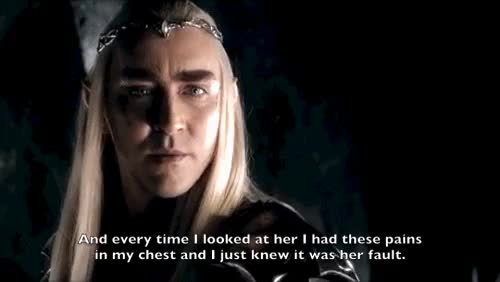 Watch and share The Hobbit GIFs and Thranduil GIFs on Gfycat
