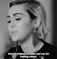 Watch and share Miley Cyrus GIFs and Interview GIFs on Gfycat