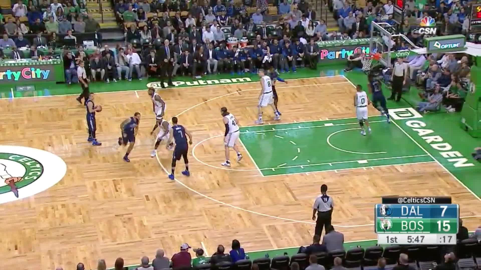 Avery Bradley, BostonCeltics, NBA, Avery Bradley OREB vs Memphis 11/16 GIFs
