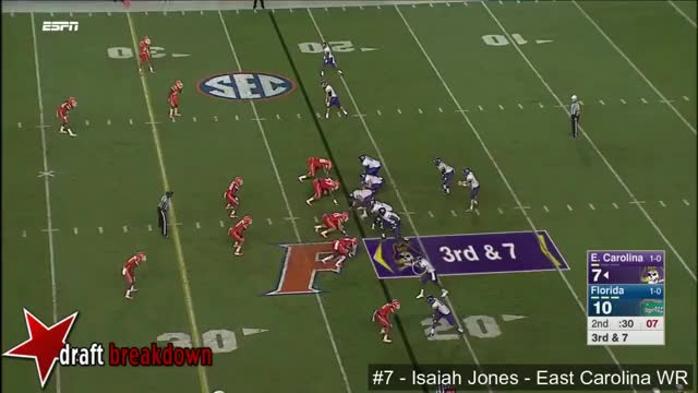 Watch and share Isaiah Jones (ECU WR) Vs Florida 2015 GIFs on Gfycat