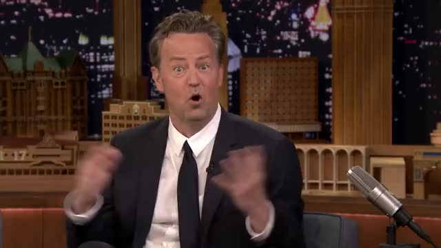Watch and share Working On Friends Spoiled Matthew Perry GIFs by Reactions on Gfycat