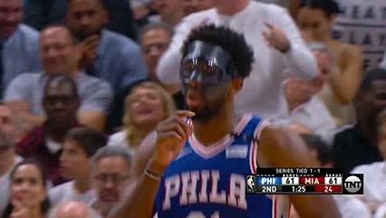 042118, Joel Embiid — Philadelphia 76ers GIFs