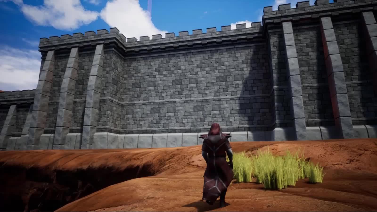 destruction, gamephysics, gaming, Fictorum - How to Storm a Castle GIFs