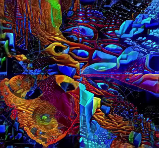 Watch and share Deepdream GIFs and Zoom GIFs by orplanb on Gfycat