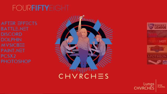 Watch and share Rainmeter GIFs and Chvrches GIFs by anteater97 on Gfycat