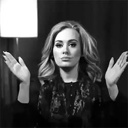 """adele, music, adele-theoneandonly: """" """"action! """" """" GIFs"""