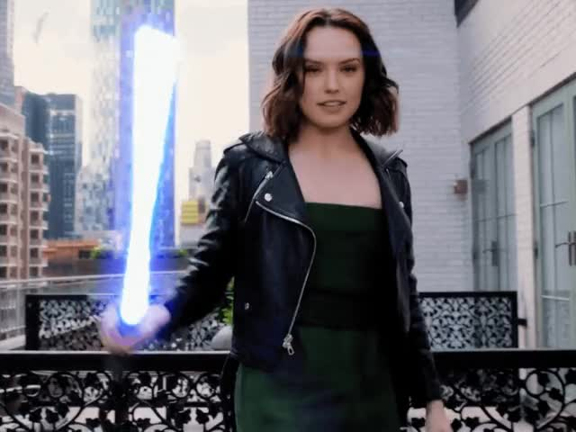 Watch and share Daisy Ridley GIFs and Rey GIFs by Reactions on Gfycat