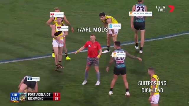 Watch and share The Mods On R/afl Are The Best Mods GIFs by polyhydra on Gfycat