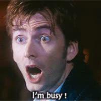 David Tennant, busy, Busy GIFs