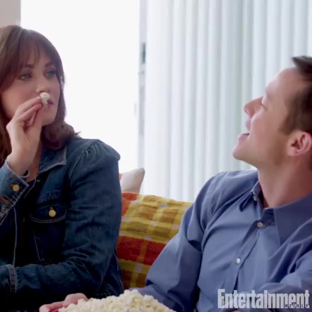 Watch and share Zooey Deschanel GIFs by Richie on Gfycat
