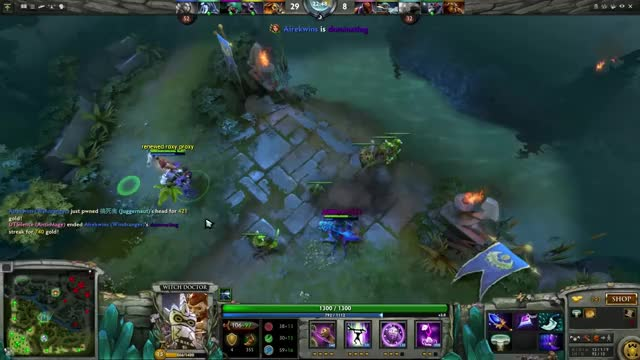 Watch and share Weaver With Aghanim And Witch Doctor (reddit) GIFs on Gfycat
