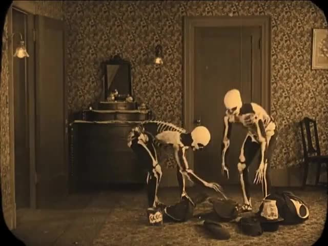 Watch and share Haunted House GIFs and Buster Keaton GIFs by Gameraboy on Gfycat