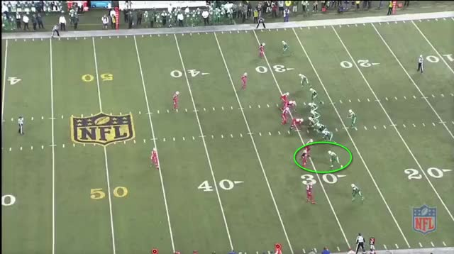 Watch and share Marshall Middle INT GIFs by Cover 1 on Gfycat
