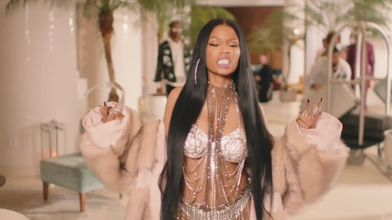 GIF Brewery, Nicki Minaj, future---you-da-baddest-ft-nicki-minaj, Nicki Minaj GIFs