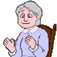 Watch and share Grandma animated stickers on Gfycat