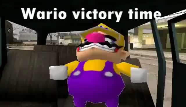 Watch and share Wario Victory Time GIFs on Gfycat