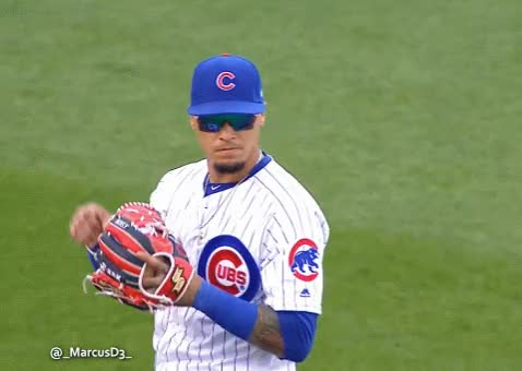 Watch and share Javier Baez Reaction After Quick Tag GIFs by MarcusD on Gfycat