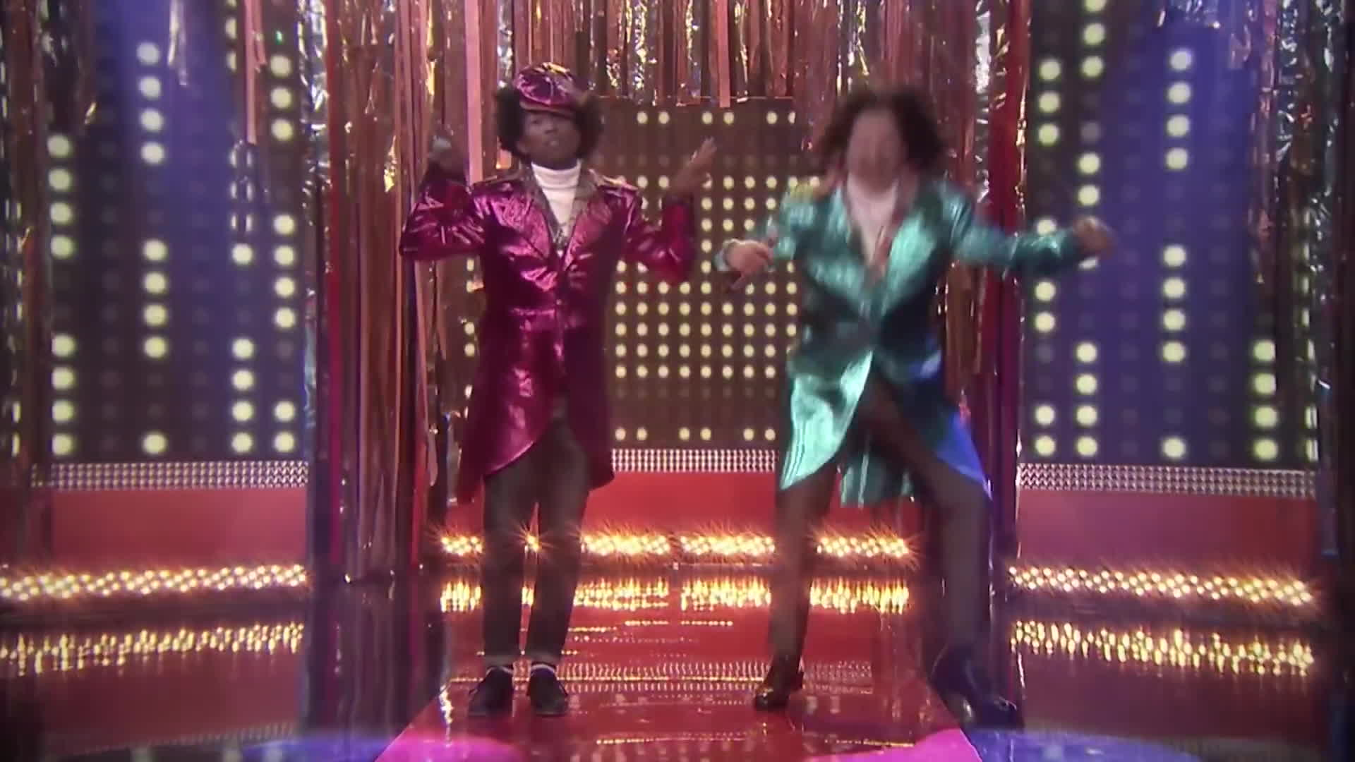 Jimmy & Pharrell Dance GIFs