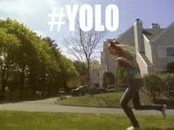 Watch and share Yolo GIFs by Reactions on Gfycat