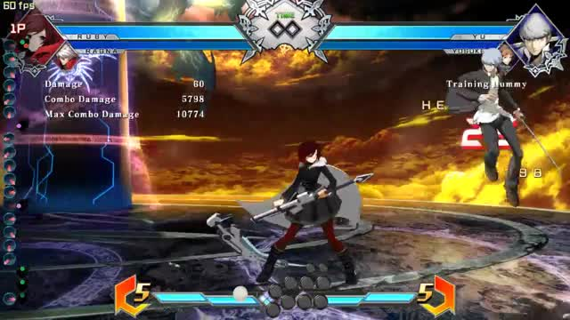 Watch and share BBTag 1.5: Ruby New Corner Combo GIFs by snuffychris605 on Gfycat