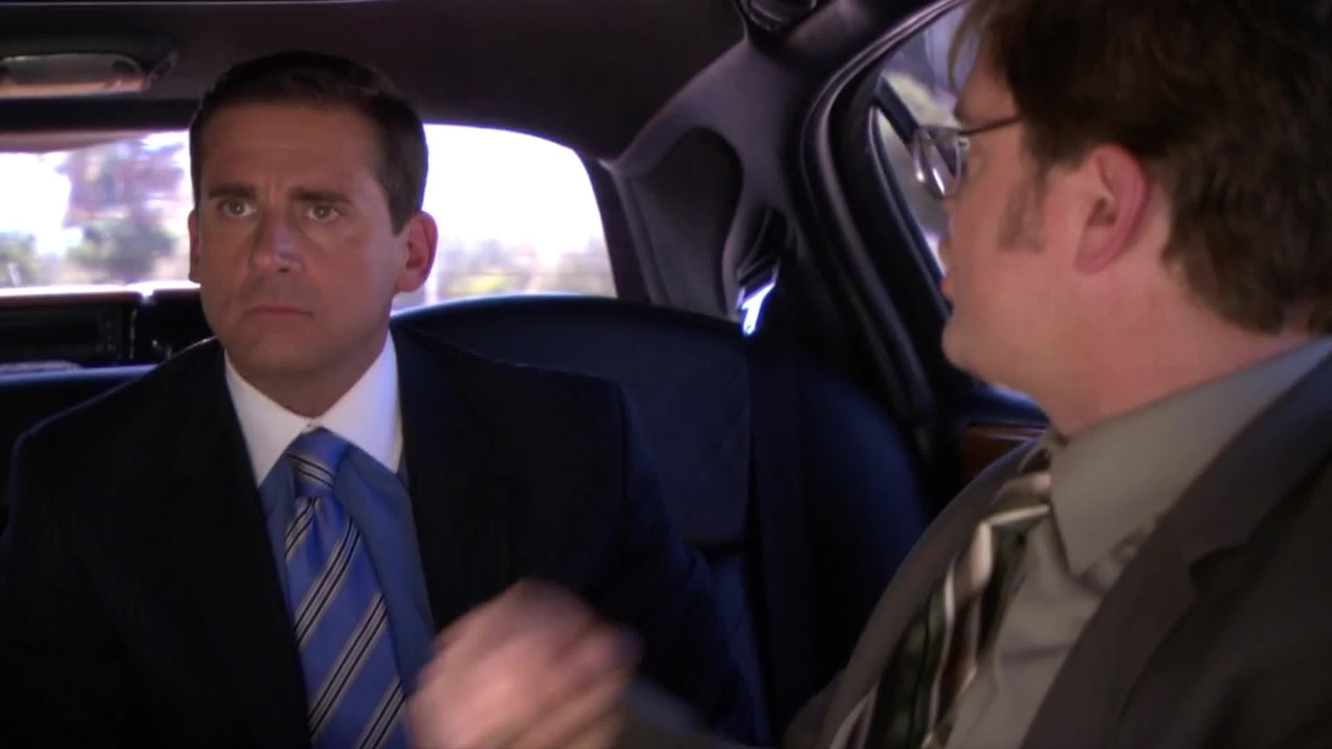 funnygifs, hifw, theoffice, How it feels when your seat buddy says something stupid GIFs