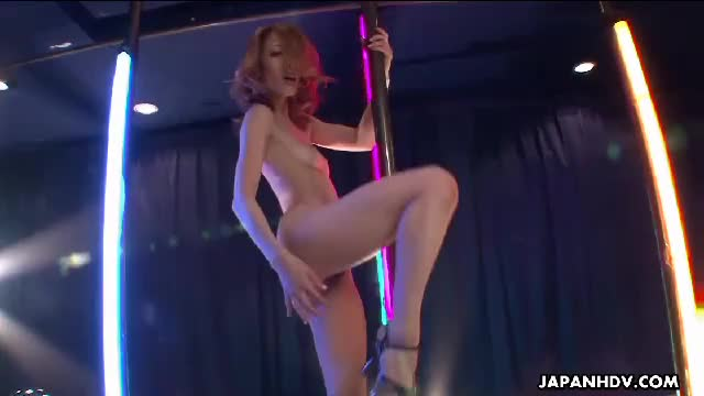 Stripper on the pole fingering