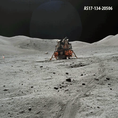 moon landing gifs find amp share on giphy - 700×700