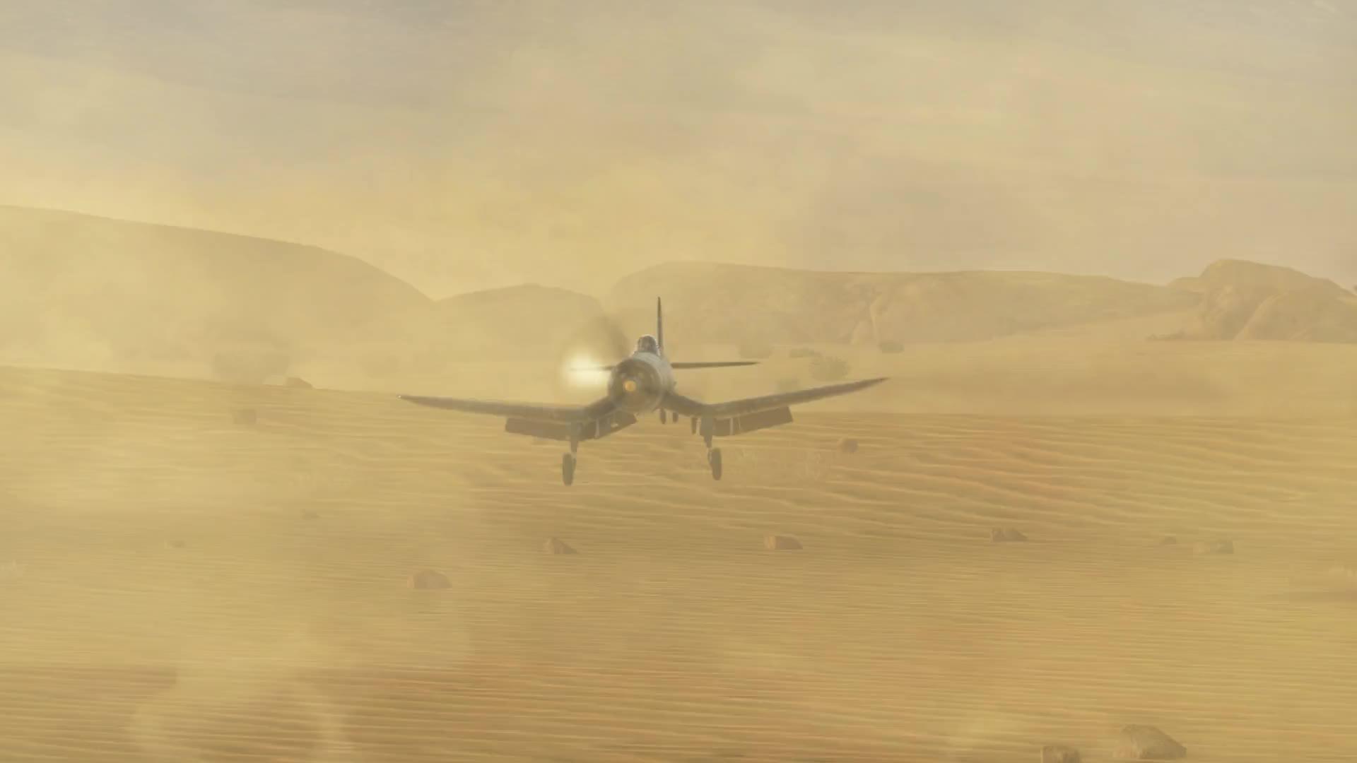 F4U-1d, M551, War Thunder, aircraft, tank, Close Air Support redefined GIFs
